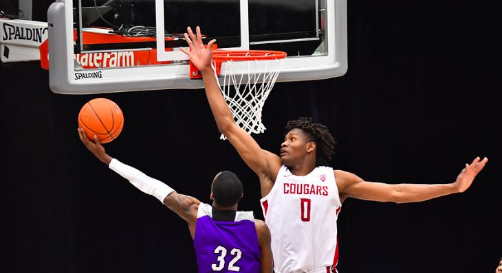 NCAA : Efe Abogidi cartonne encore pour une septième victoire d'affilée de Washington State