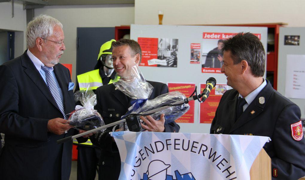 Ehrung Altbürgermeister Rainer Kinzkofer