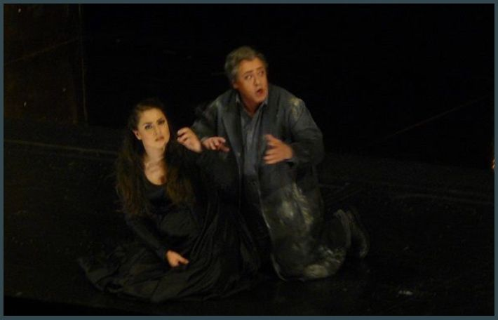 Oksana Dyka (Aida) et Sergey Murzaev (Amonasro)