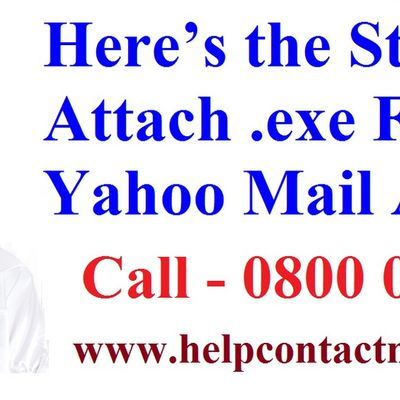 Here's the Steps to Attach .exe Files to Yahoo Mail Account