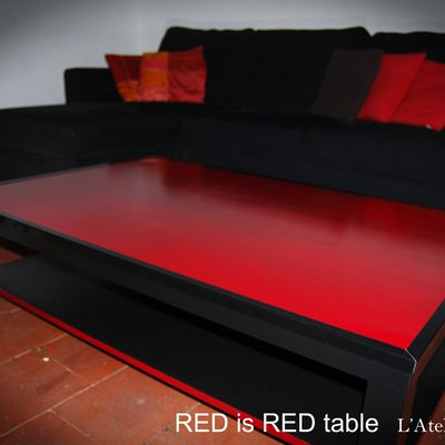 RED is RED Table