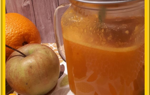 Jus de Potimarron, pommes et Orange
