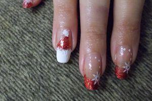 The nail art ;)