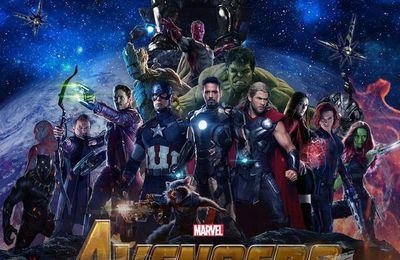 Avengers : infinity war... Marvel nous livre un premier aperçu du tournage