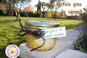 Bocal de foie gras de canard