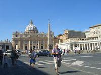 Première escale : Rome