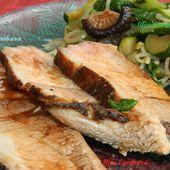 Porc Char Siu, Rôti à la Cantonaise (Chine) - Ma Cuisine Bleu Combava