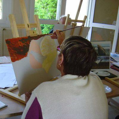 Comment trouver des cours de peinture ?