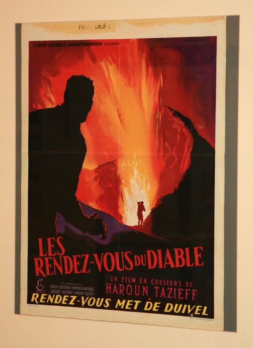 """Affiche de son film """"Les rendez-vous du Diable"""" - exposition LAVE Liège 2011  - photo archives © Bernard Duyck"""