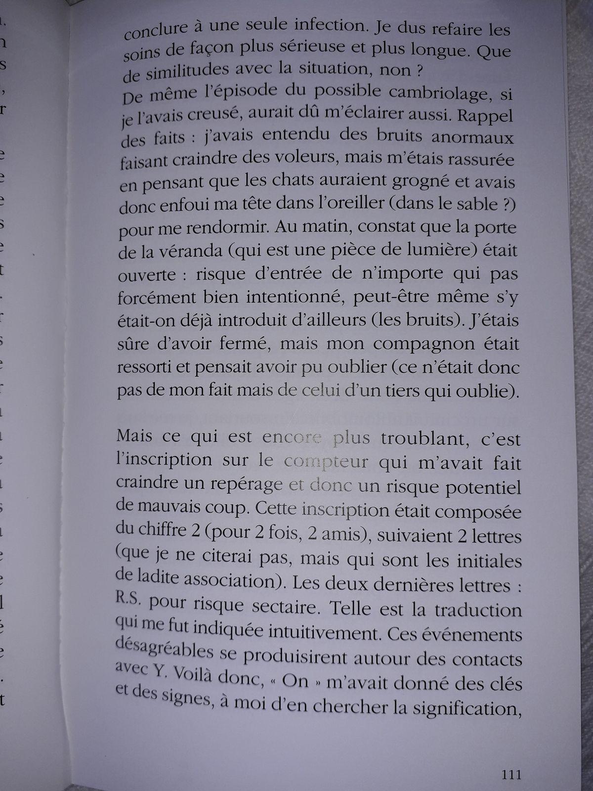 Suite Pluie de Poussières d'Etoiles, page 106 à 111