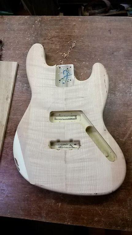 Album - Customisation Fender Jazz bass mexico 1992