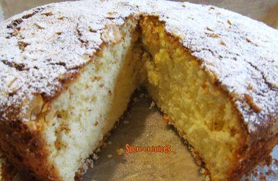 Gâteau Magdalenas au citron