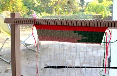 weaving ou l'art de tisser...