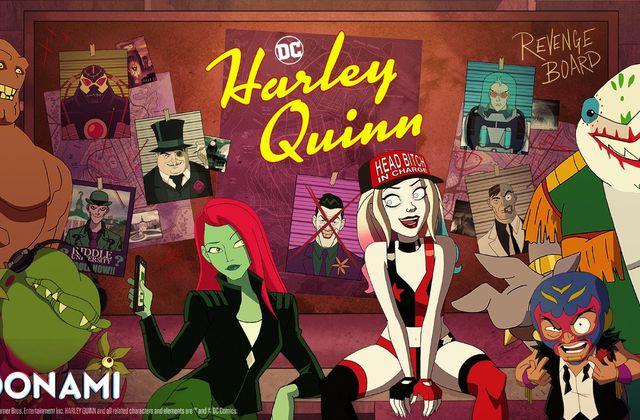 Saison 2 de la série animée Harley Quinn à partir du 1er avril sur Toonami.