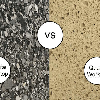Choose the Best Kitchen Worktops Granite vs Quartz Worktops in London, UK - Astrum Granite