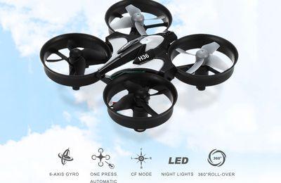 JJRC H36 2.4GHz 4CH 6 Axis Gyro RC Quadcopter - €12.58