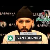 Evan Fournier Feels Like He Has a Concussion from COVID