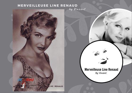 CARTE POSTALE: Line Renaud part Sam Lévin
