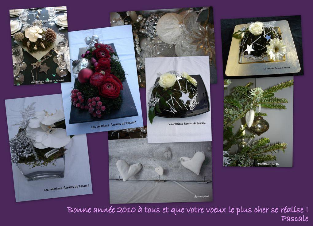 Centres de table et décorations pour des fêtes de fin d'année réussies.