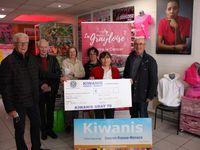 Le Kiwanis en soutien à La Grayloise