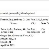 Google patents robots with personalities in first step towards the singularity - OOKAWA Corp.