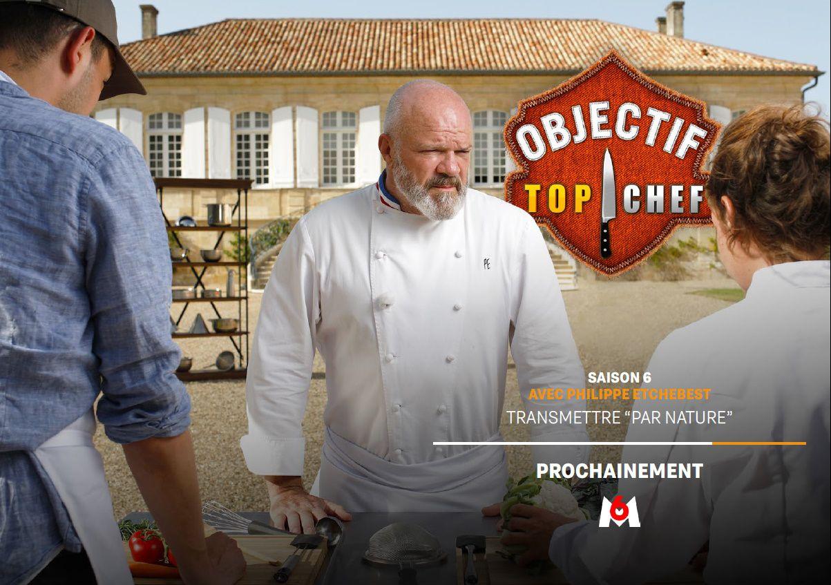 Tous en cuisine laisse la place à Objectif Top Chef dès le 12 octobre sur M6.