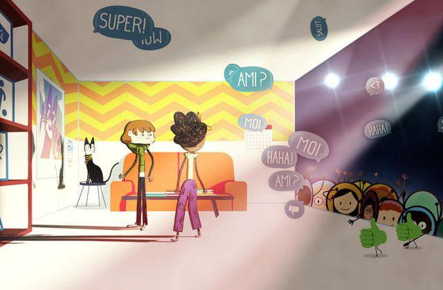 La série #DansLaToile propose aux enfants de 6 à 10 ans de découvrir le web et ses usages.