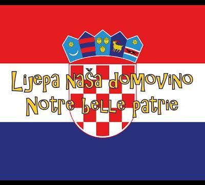 """Lijepa naša domovino"", hymne de la Croatie"
