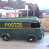 PEUGEOT D3A FOURGON POSTAL DINKY TOYS REEDITION ATLAS - car-collector.net