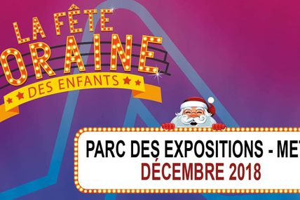 Metz La Fête Foraine des Enfants tous les week ends de Décembre