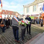 Hommage National aux Morts pour la France en AFN ce 5 décembre 2017 à Neuf Brisach - anciens9genie.overblog.com