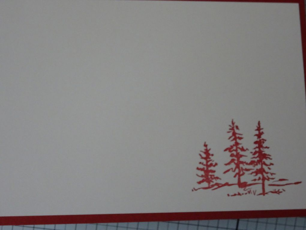 [stampin'Up!] Let it ride : carte monochrome