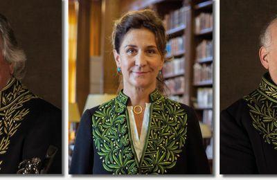 Académie des beaux-arts – Alain Charles Perrot et Astrid de La Forest élus respectivement président et vice-présidente