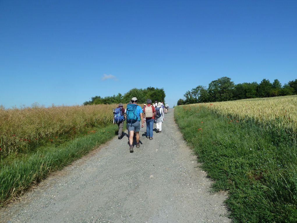 Randonnée en boucle de Saint-Martin d'Etampes, 23 km.