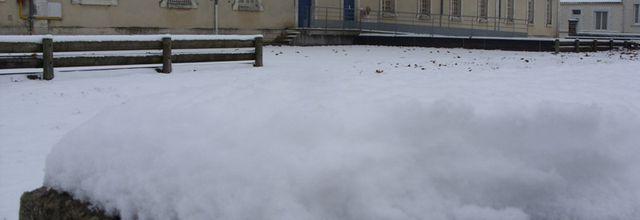 2010.12.02 Neige sur Saintes