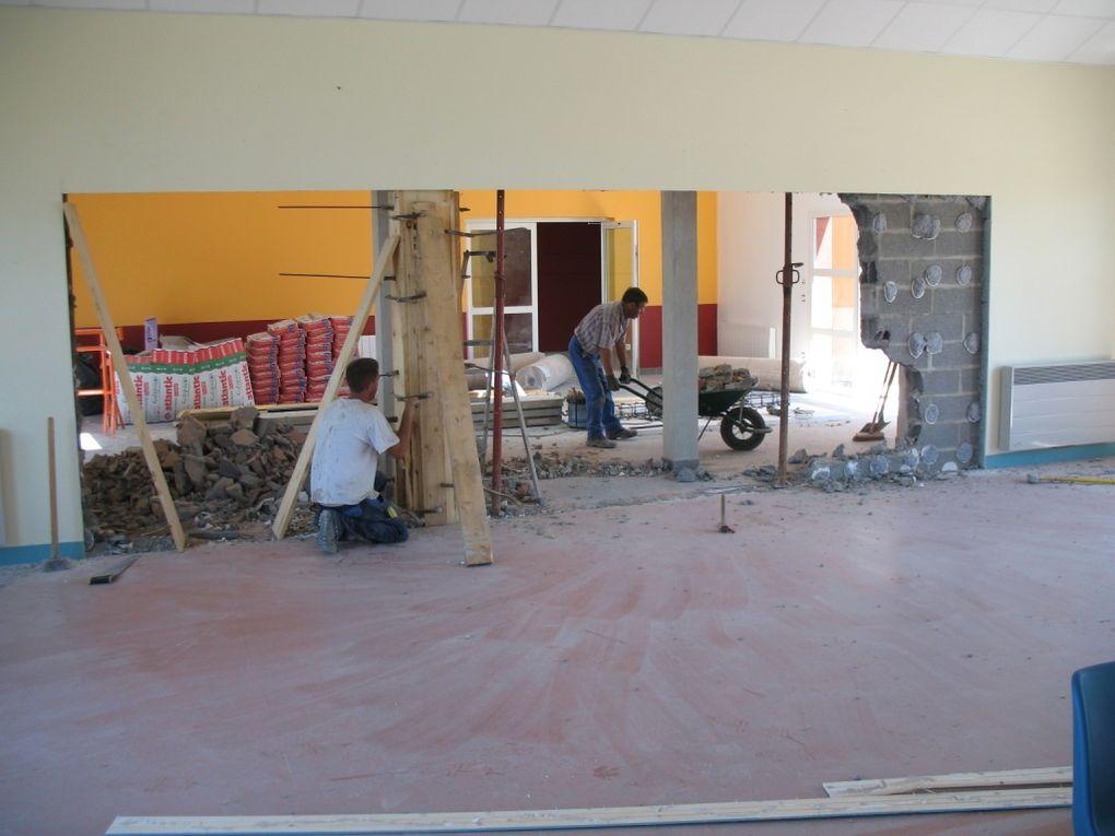 Album : construction de l'école