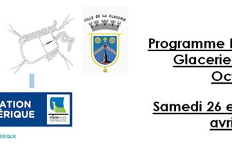 Le programme complet du week-end rando photo numérique à La Glacerie/Tourlaville