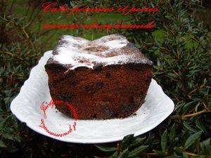 Cake aux poires et pommes, saveurs citron/amande Jaclyne www.cuisineetgourmandise.fr