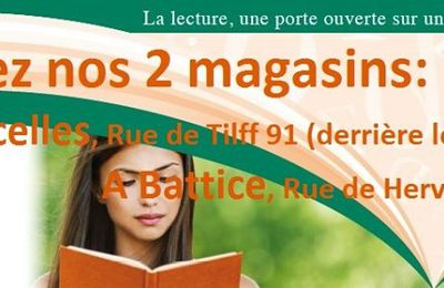 Point de vente : Thema Hyperlibrairie + dédicace !