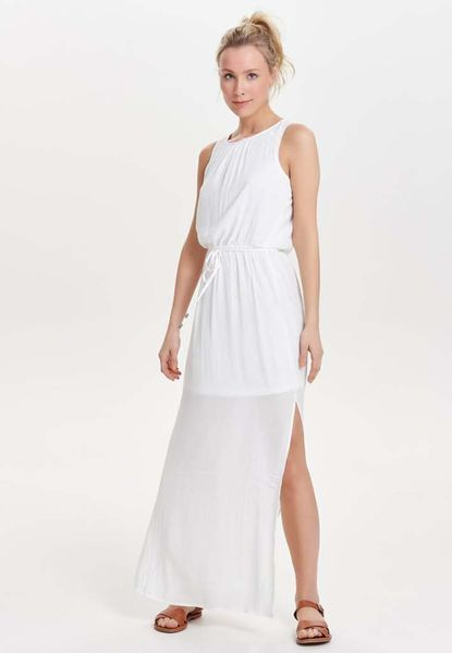Robe longue blanche Only
