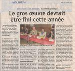 Notre AG ds les Dernières Nouvelles d'Alsace