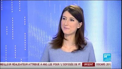 2013 02 25 - KARINA CHABOUR - FRANCE 24 - PARIS DIRECT @06H40
