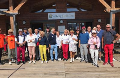 LE GOLF EN ALTITUDE, VALBERG C'EST LE TOP