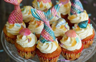 Cupcake Sirène
