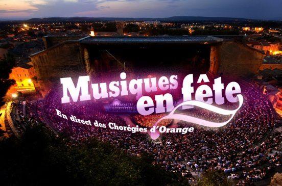 Musiques en fête 2017, en direct des Chorégies d'Orange, le lundi 19 juin à 20h55 sur France 3