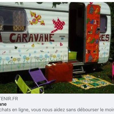 Et si vous aidiez Lire en caravane ?