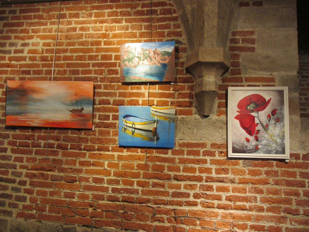 L'exposition des peintres de l'Université d'Anchin - avril 2015