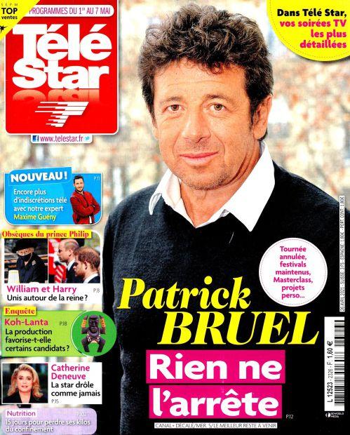 La une de 10 nouveaux numéros de la presse TV : Bruel, Bern, Bollaert, Aliagas...