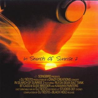 Tiësto compilation: In Search of Sunrise 2 mix, tracklist, album, track, sigle, remix, isos 2