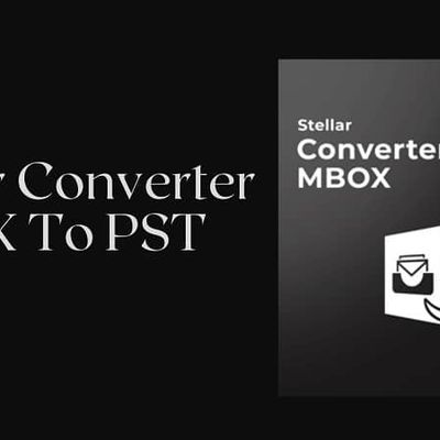 Stellar Converter MBOX To PST (Best MBOX To PST Converter)